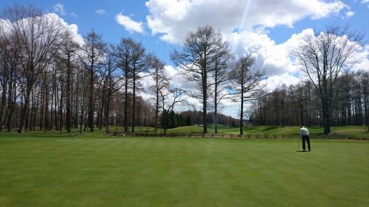 4月北海道ゴルフ②