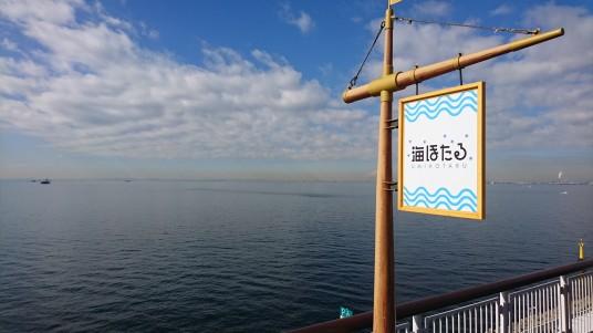 海ほたるから