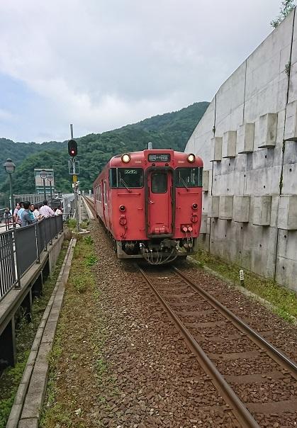 餘部駅列車②